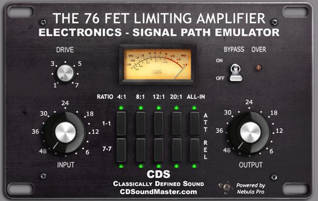 CDSoundMaster Audio Software - FET 76 PC VST