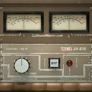 MCI JH 536 Console Audio Plug-In For Windows