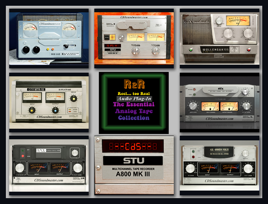 R2R - Reel TOO Real - Analog Tape Collection VST
