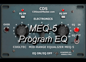 MEQ-5 Program Equalizer
