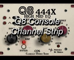 Q8 Console Channel Strip