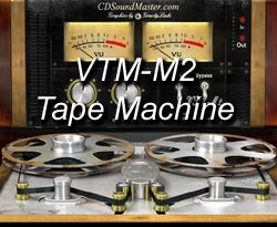 VTM-M2 Mastering Tape Machine