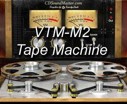VTM-M2 Mastering Tape Machine