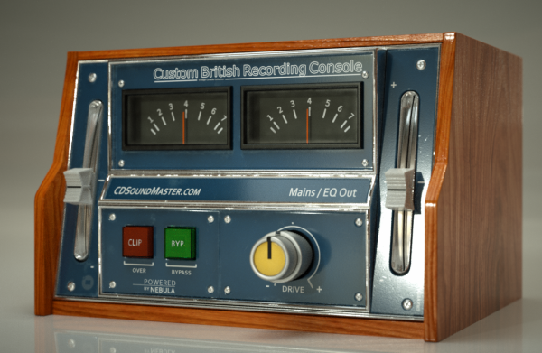 Custom British Recording Console Audio Plug-In