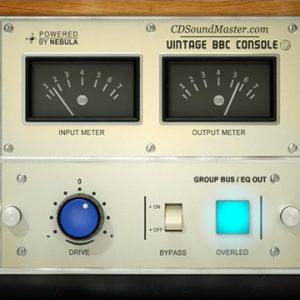 VBBC Console VST Plug-In