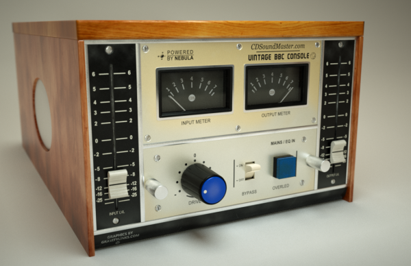 Vintage BBC Console Audio Plug-In
