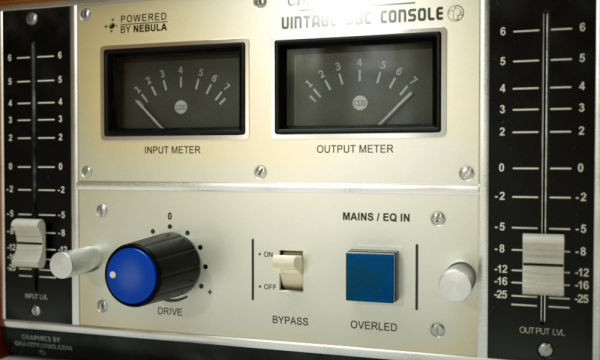 Vintage BBC Console Audio Plug-In for Mac